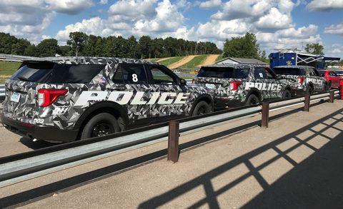 ford police interceptor utility  quickest  police testing