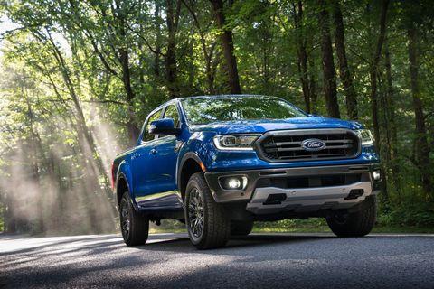 2020 ford ranger front