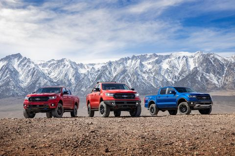 2020 ford ranger off road package