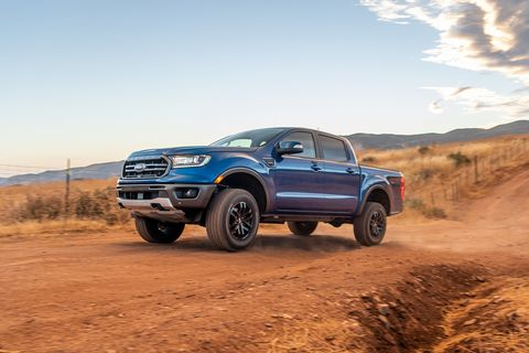 2020 ford ranger level 1 off road package
