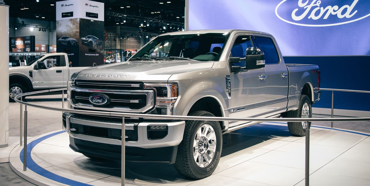 2020 Ford F-series Super Duty Has New Engines and Big ...