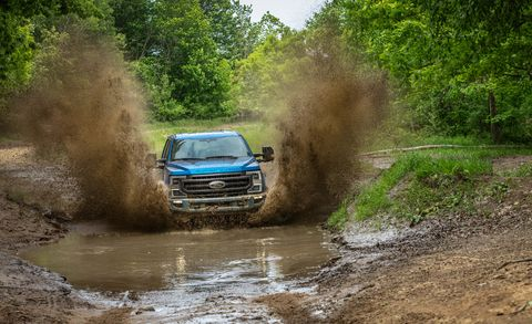 2020 Ford Super Duty Tremor package