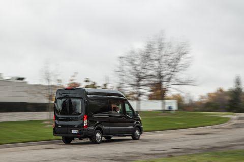 2020 ford transit 350 crew awd