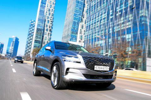 Land vehicle, Vehicle, Car, Automotive design, Mid-size car, Sport utility vehicle, Crossover suv, Full-size car, Hyundai, Compact car,