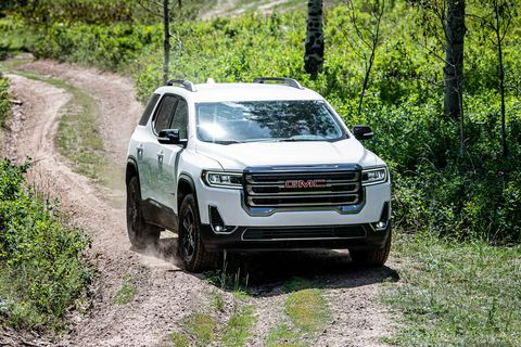 2020 GMC Acadia AT4 Is More Show Than Actual Off-Road ...