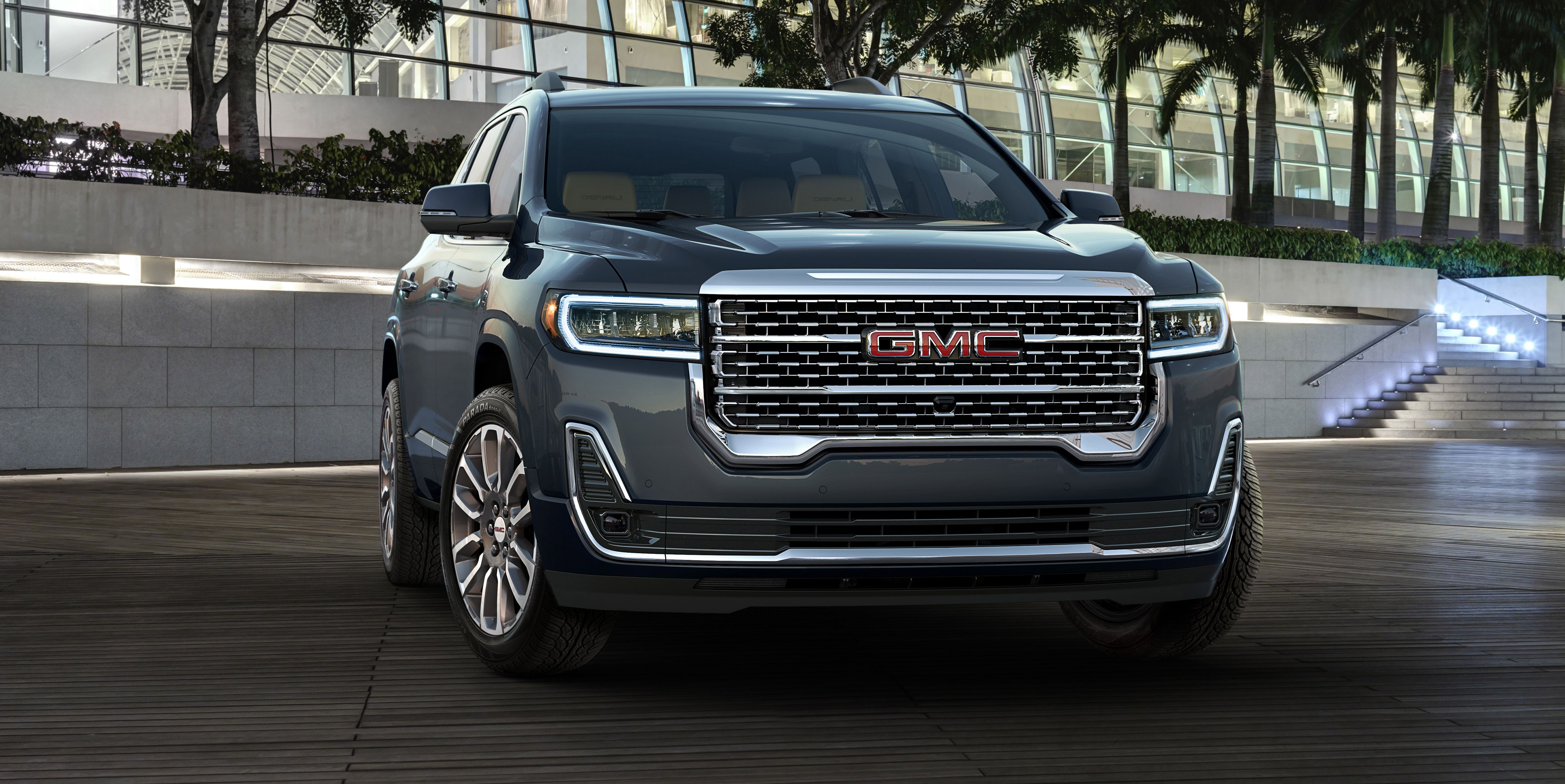 The 2020 GMC Acadia Looks Blockier and Has a New Turbo Engine