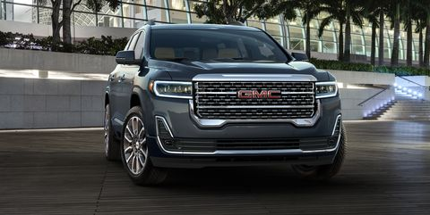 2020 Gmc Acadia Now With Turbo Engine Updated Features