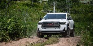 2020 GMC Acadia front