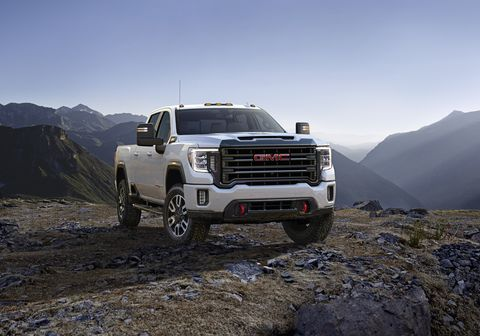 2020 GMC Sierra 2500 HD AT4 heavy duty pickup