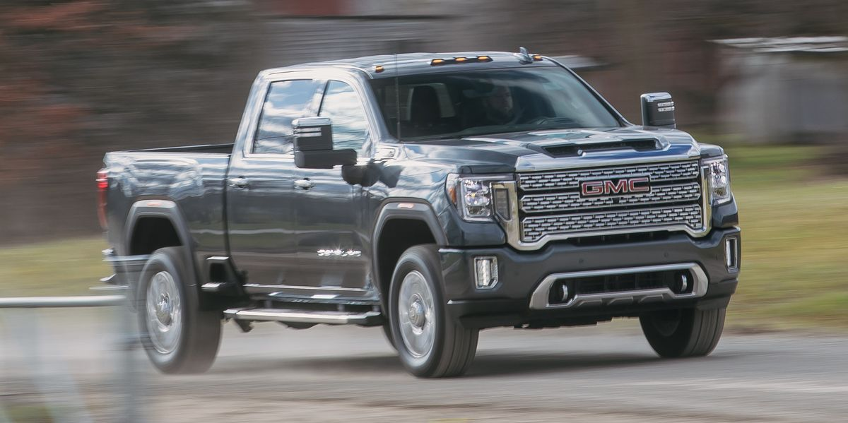 2020 GMC Sierra HD Is a Hot Rod of a High-Tech Workhorse