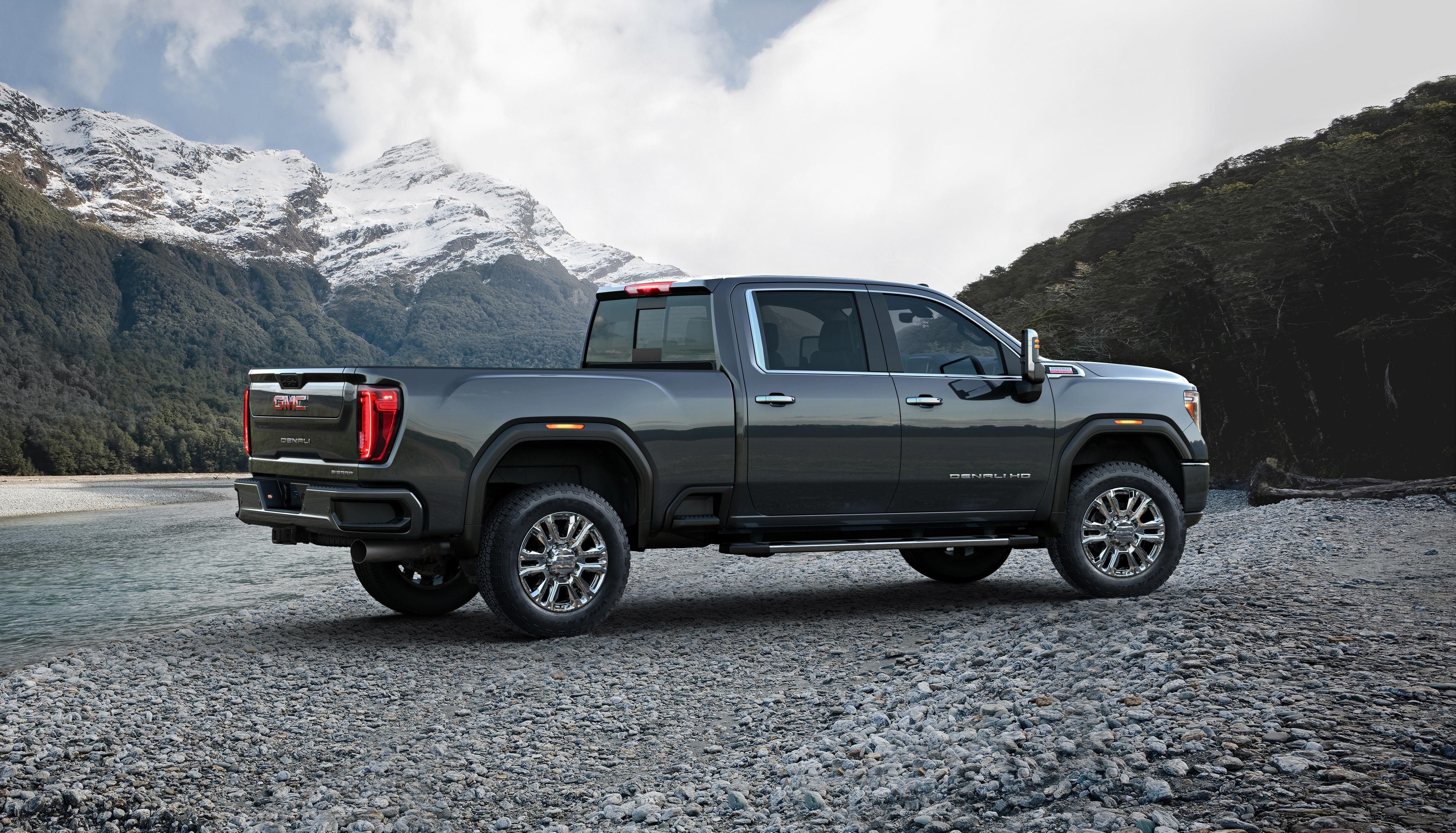 2020 Gmc Sierra Hd Pickup New Heavy Duty Truck With A Denali Model