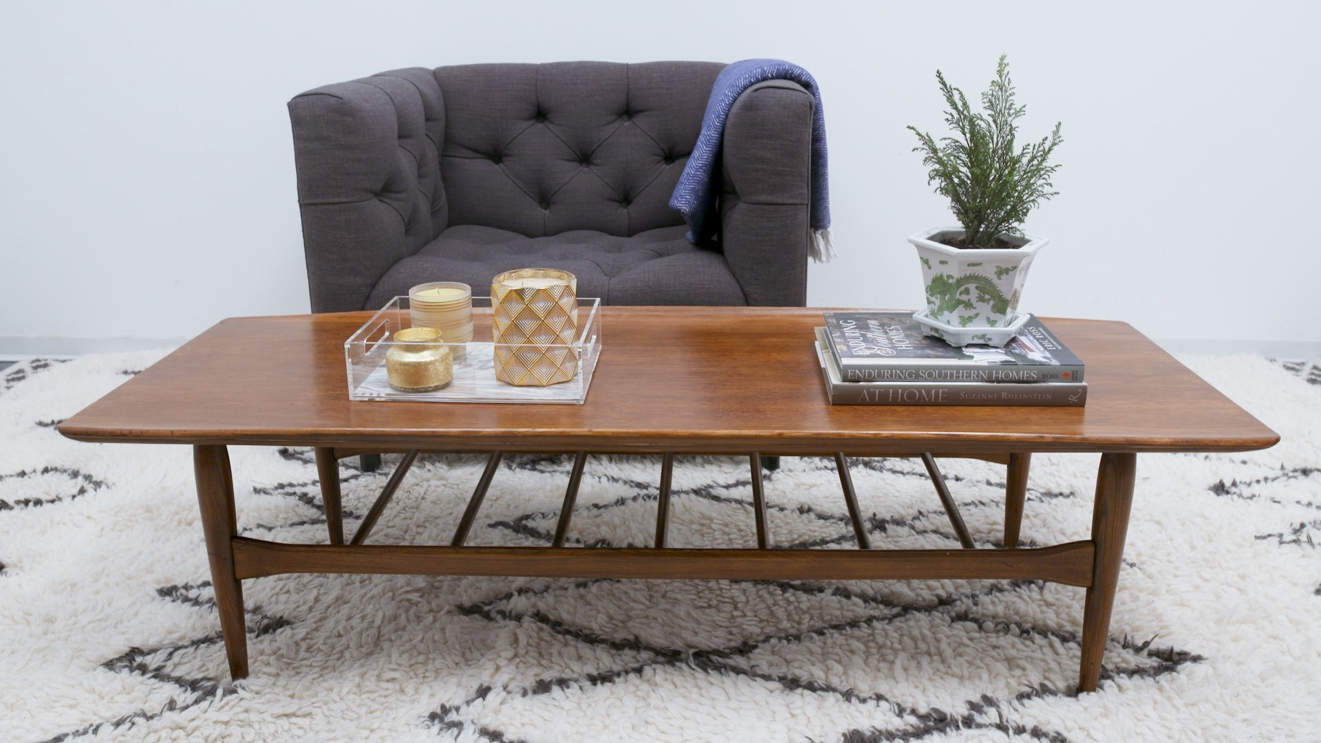 diy refinish vintage table