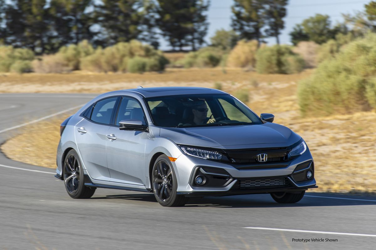 2020 Honda Civic Hatchback Updated Offers The Manual On More Models