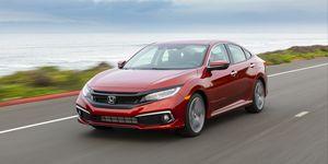 2020 Honda Civic Sedan Touring front