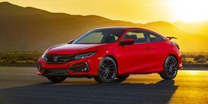 2020 Honda Civic Si front