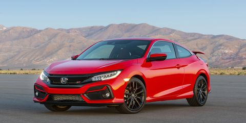 2020 Honda Civic Si Updated with New Features, Tweaked Styling