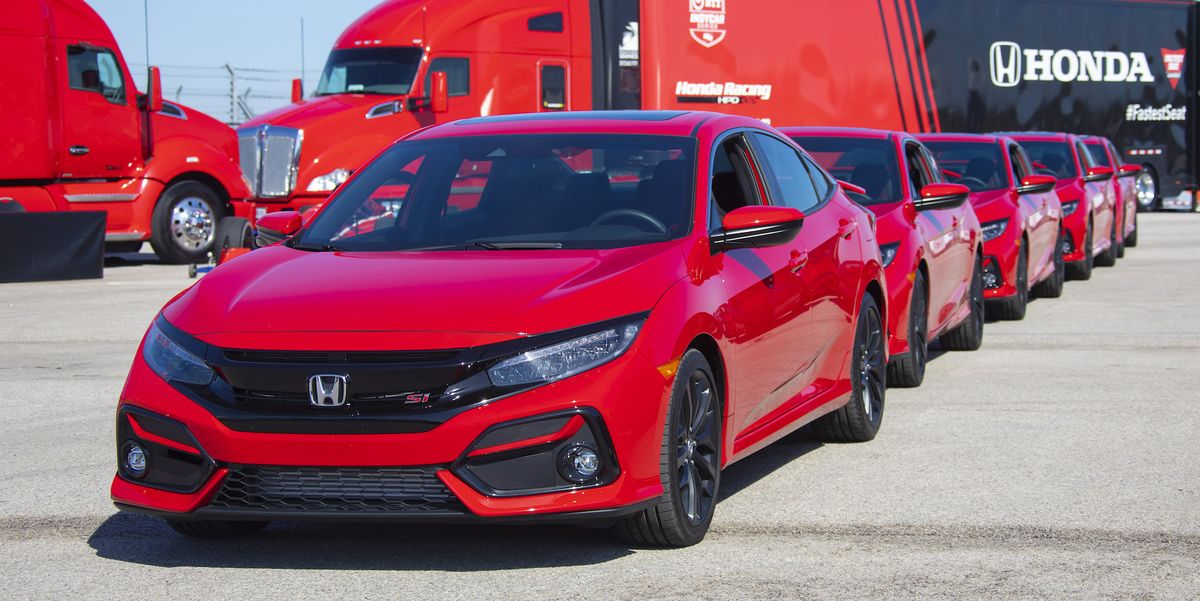 2020 Honda Civic Si Updated Is Even More Fun For The Money
