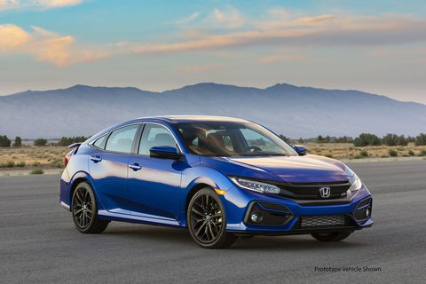 2020 Honda Civic Si Gets A New Fascia And A Shorter Final Drive