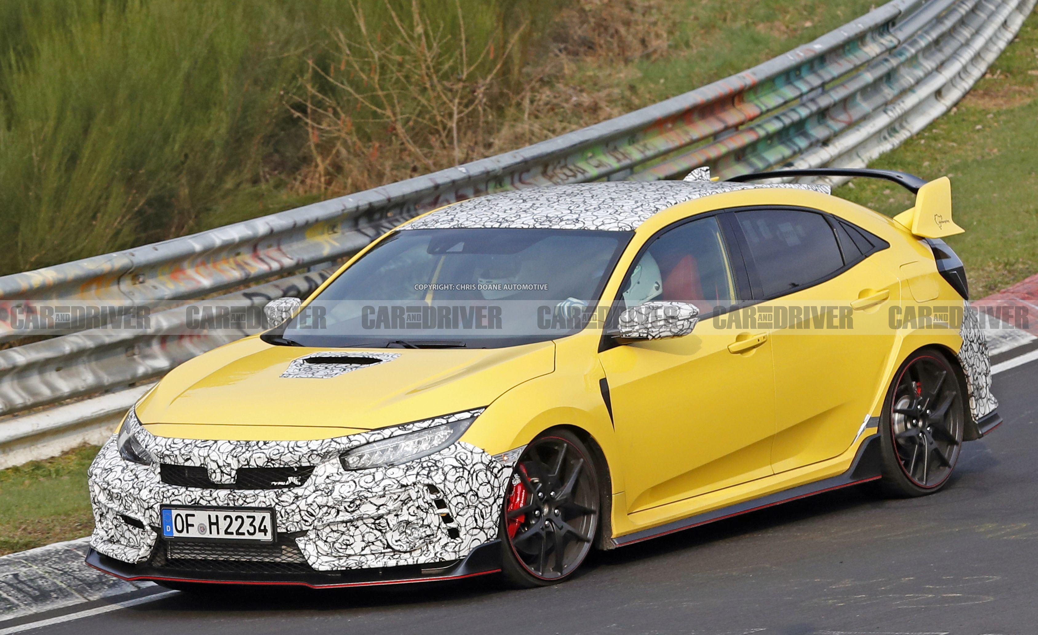 The 2020 Honda Civic Type R Might Be Bringing Back Phoenix Yellow