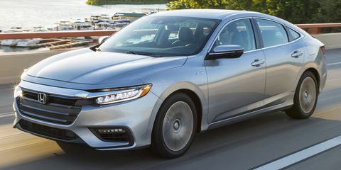 2020 honda insight front