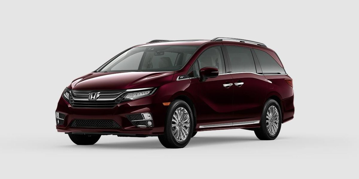 The Honda Odyssey Celebrates 25 Years With Lots Of Tacky Chrome