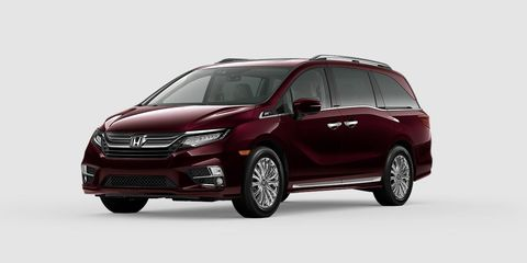 2020 Honda Odyssey Review.The Honda Odyssey Celebrates 25 Years With Lots Of Tacky Chrome