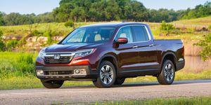 2020 Honda Ridgeline front