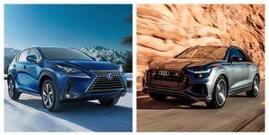 2020 Hybrid Crossovers and SUVs