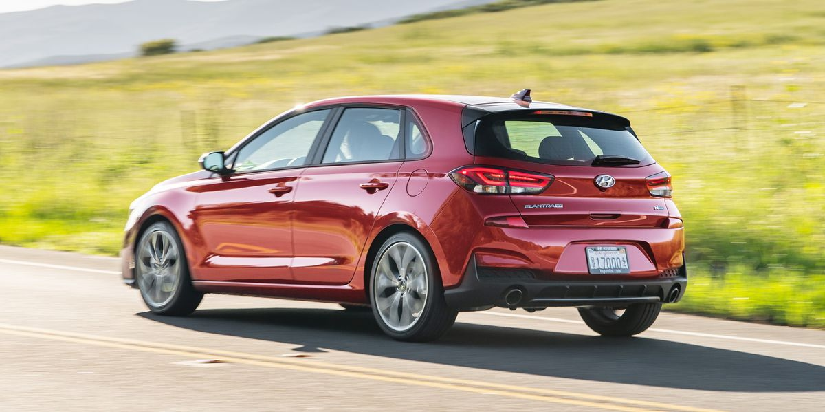 2020 hyundai elantra gt n line channels sporty compacts of old 2020 hyundai elantra gt n line channels