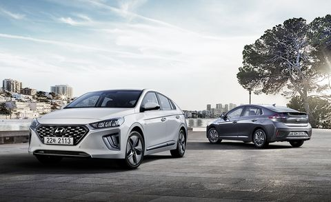 2020 Hyundai Ioniq Hybrid And Plug In