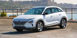 2020 Hyundai Nexo front