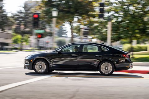 2020 Hyundai Sonata Hybrid