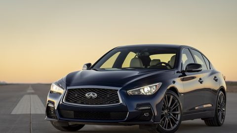 2020 Infiniti Q50 Red Sport 400 Review Pricing And Specs