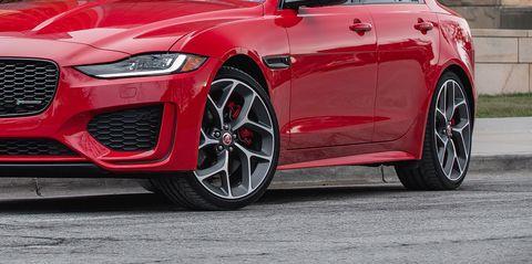 The 2020 Jaguar XE in Photos