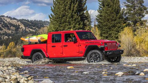 2020 Jeep Gladiator Review Pricing And Specs