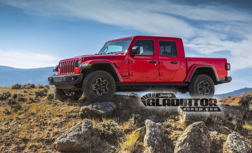 The Jeep Wrangler Pickup Truck Is Coming Soon Gladiator Release Date Details