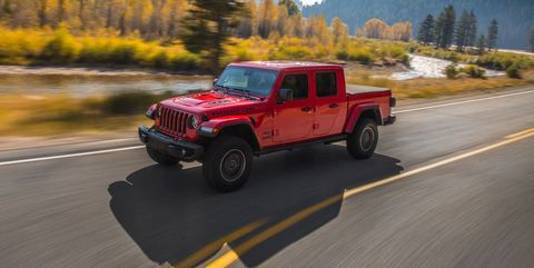 2020 Jeep Gladiator Pickup A More Functional Wrangler