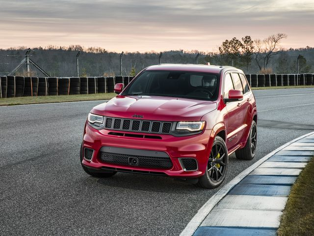 2020 Jeep Grand Cherokee Trackhawk Review Pricing And