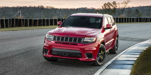 2020 Jeep Grand Cherokee Trackhawk front