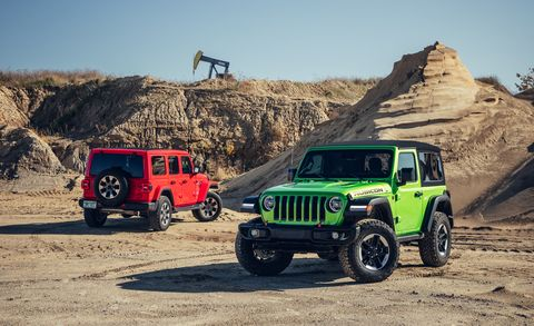 Three New Powertrain Choices For The 2020 Jeep Wrangler