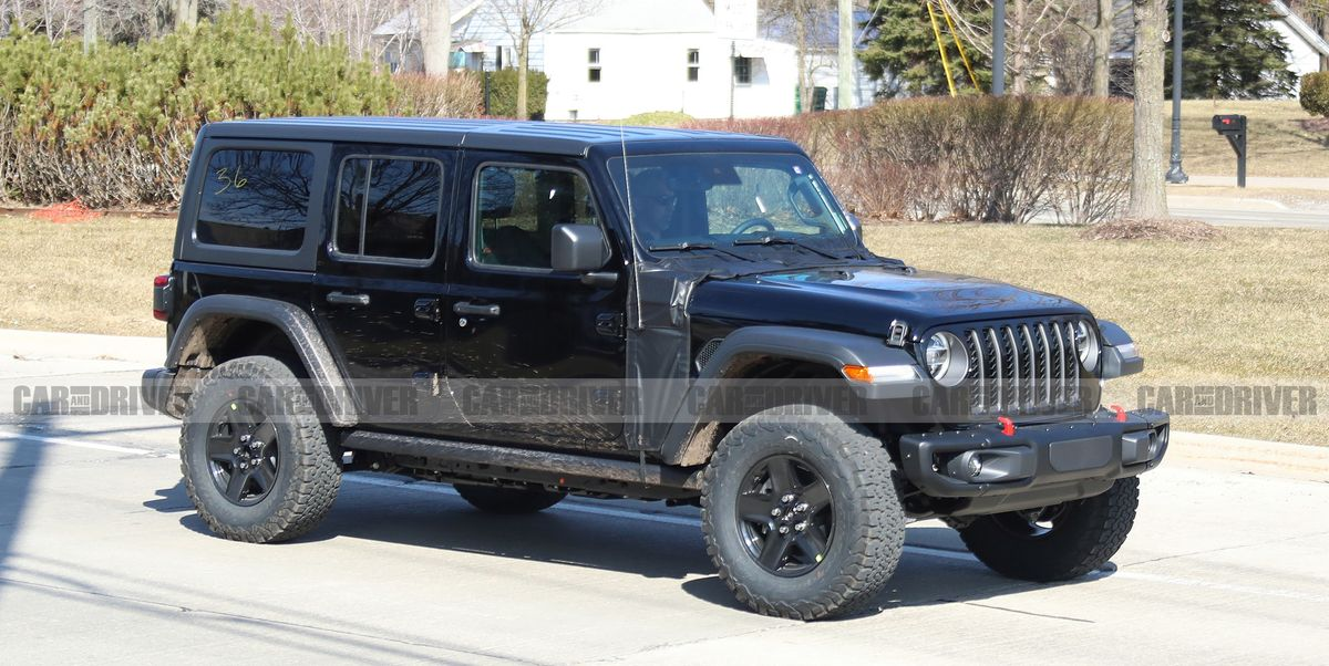 Jeep Wrangler Plug-In Hybrid – New Gas-Electric SUV Spied ...