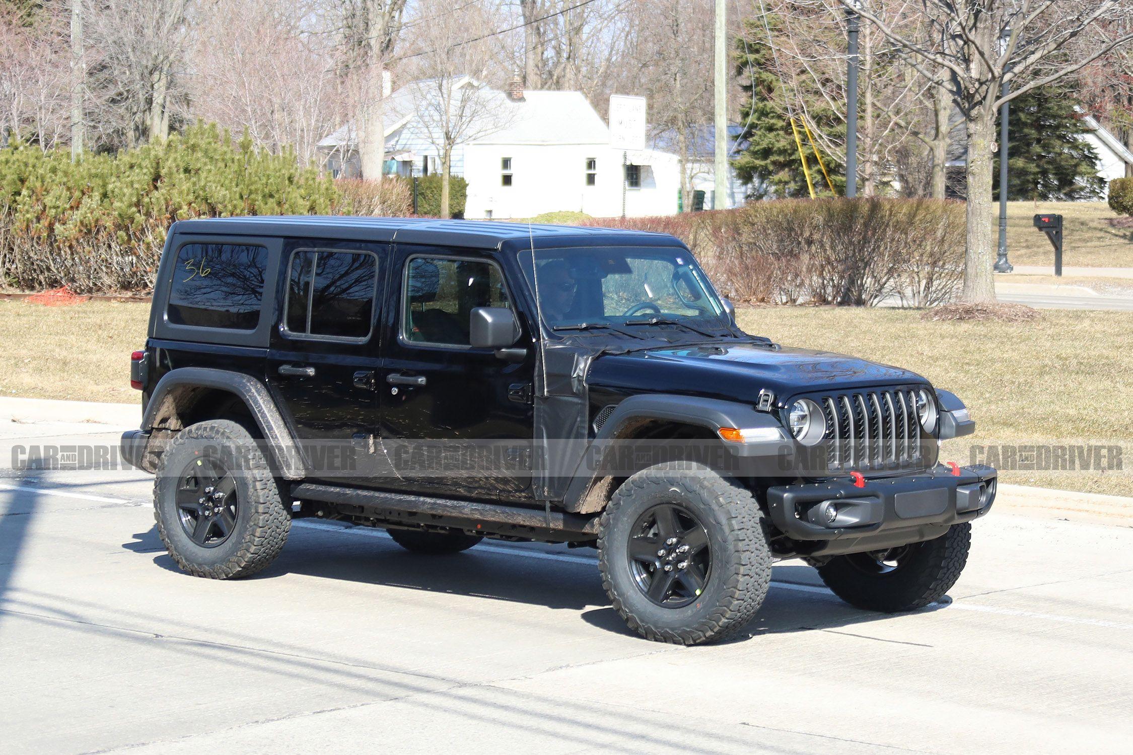 Jeep Wrangler PHEV Prototype