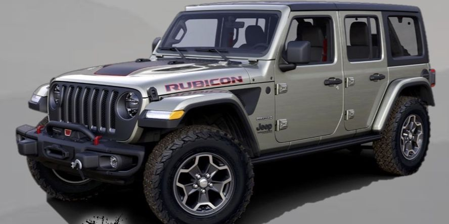2020 Jeep Wrangler Rubicon Getting A Recon Edition