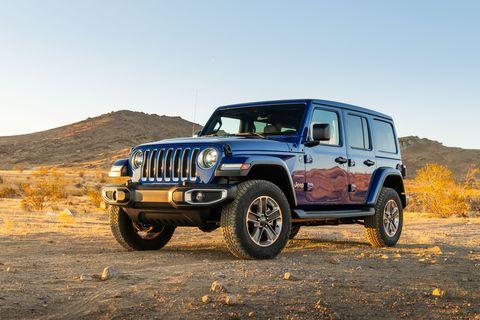 2020 Jeep Wrangler front