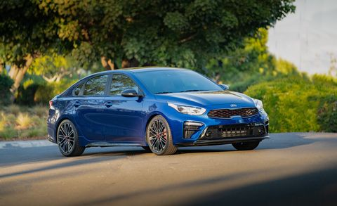 2020 Kia Forte Gt Sedan Revealed With More Power Performance Tweaks