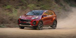 2020 Kia Sportage driving