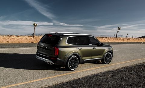 Top Rated Car Seats 2020.2020 Kia Telluride Suv Pricing Release Date Trim Levels