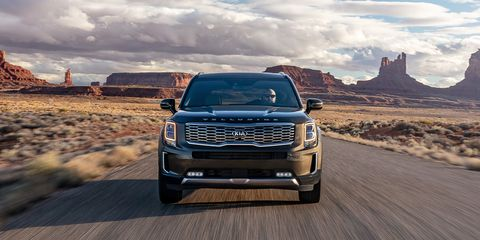 2020 Kia Telluride Three Row Suv Solid Value And Execution