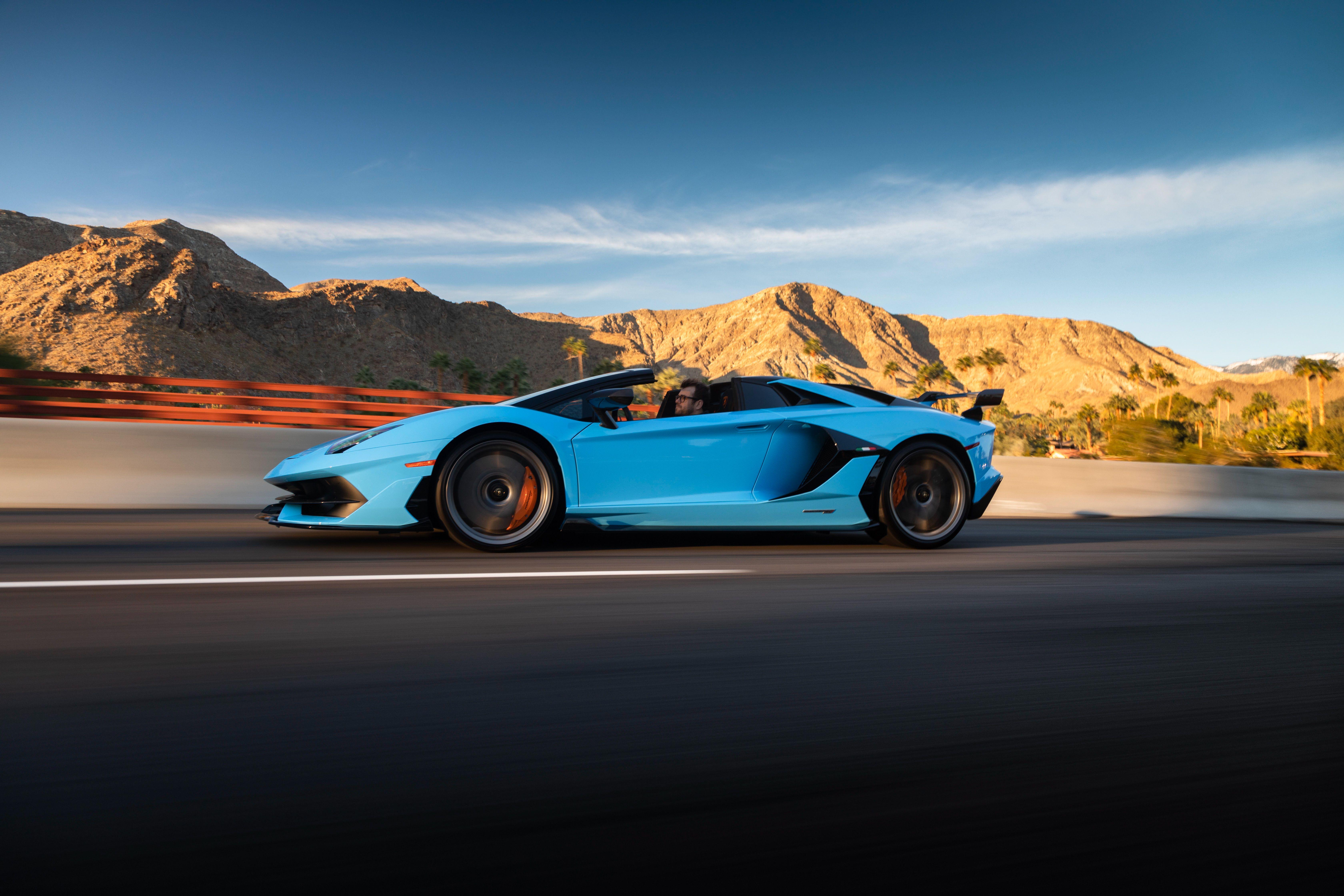 2020 Lamborghini Aventador SVJ Roadster Revels in Pure V,12