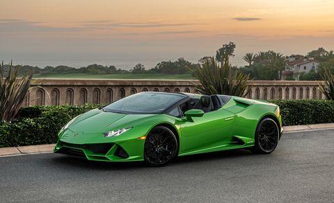 Land vehicle, Vehicle, Car, Supercar, Sports car, Automotive design, Lamborghini, Green, Performance car, Lamborghini aventador,